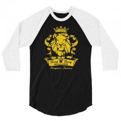 reggae lion bar 3/4 Sleeve Shirt   Artistshot