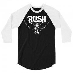 rush t shirt vintage band shirts 3/4 Sleeve Shirt | Artistshot