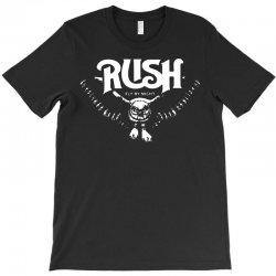 rush t shirt vintage band shirts T-Shirt | Artistshot
