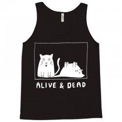 schrodinger's cat alive and dead t shirt Tank Top | Artistshot