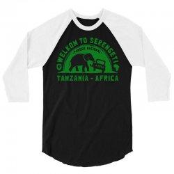 serengeti national park 3/4 Sleeve Shirt | Artistshot