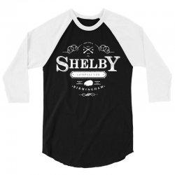 shelby company limited 3/4 Sleeve Shirt   Artistshot
