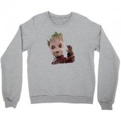 baby groot3 Crewneck Sweatshirt   Artistshot