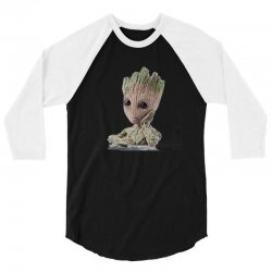groot 3/4 Sleeve Shirt | Artistshot