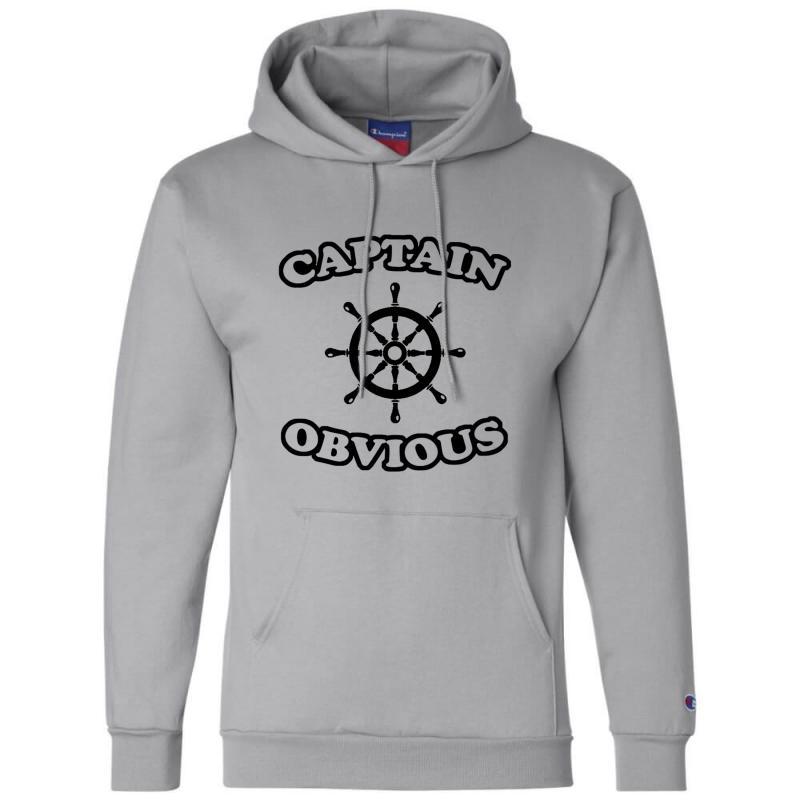 Captain Obvious Champion Hoodie | Artistshot