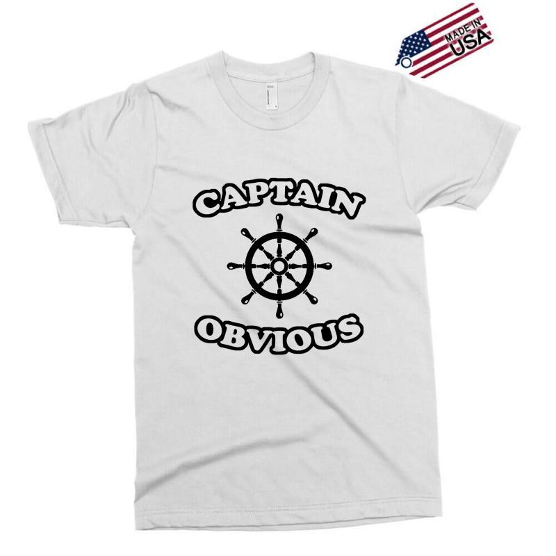 Captain Obvious Exclusive T-shirt | Artistshot