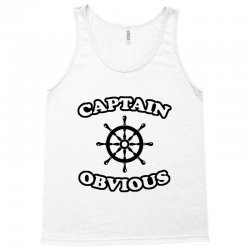 captain obvious Tank Top | Artistshot