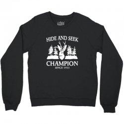 jackalope hide and seek champion Crewneck Sweatshirt   Artistshot