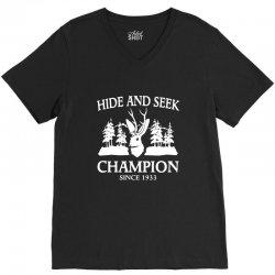 jackalope hide and seek champion V-Neck Tee   Artistshot