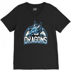 ice dragons V-Neck Tee   Artistshot