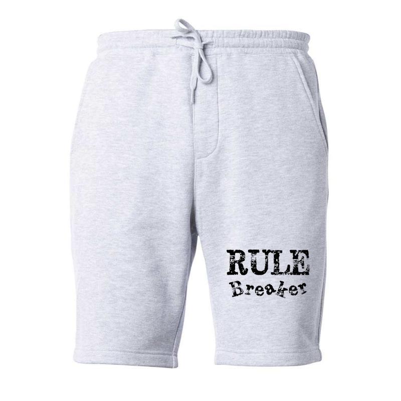 Rule Breaker Fleece Short | Artistshot