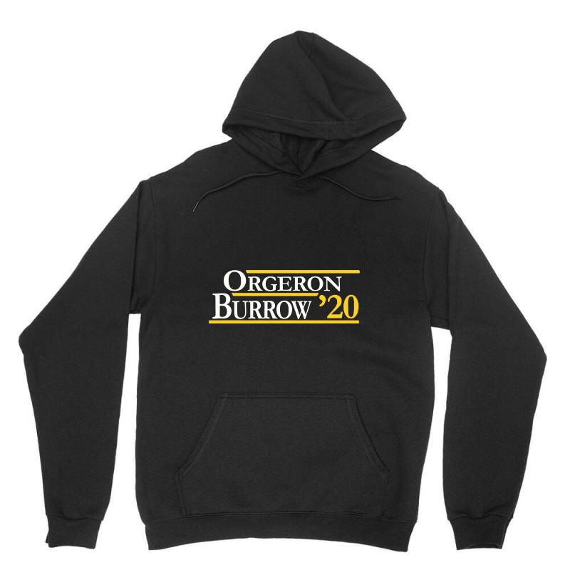 Orgeron And Burrow In 2020 For Dark Unisex Hoodie | Artistshot