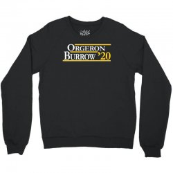 orgeron and burrow in 2020 for dark Crewneck Sweatshirt | Artistshot