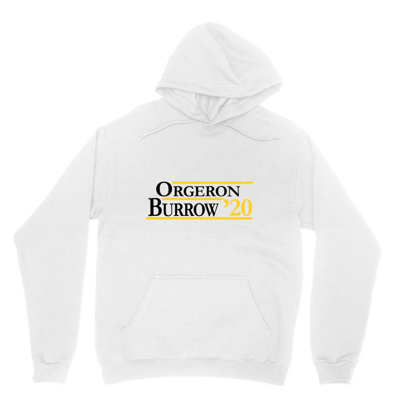 Orgeron And Burrow In 2020 For Light Unisex Hoodie | Artistshot
