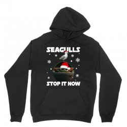 seagulls stop it now Unisex Hoodie   Artistshot