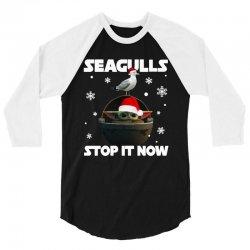 seagulls stop it now 3/4 Sleeve Shirt   Artistshot