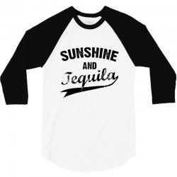 sunshine and tequila 3/4 Sleeve Shirt | Artistshot
