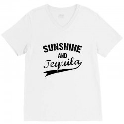 sunshine and tequila V-Neck Tee | Artistshot