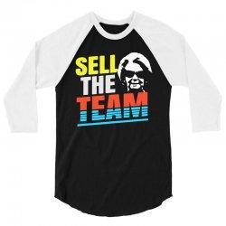 sell the team lions 3/4 Sleeve Shirt | Artistshot