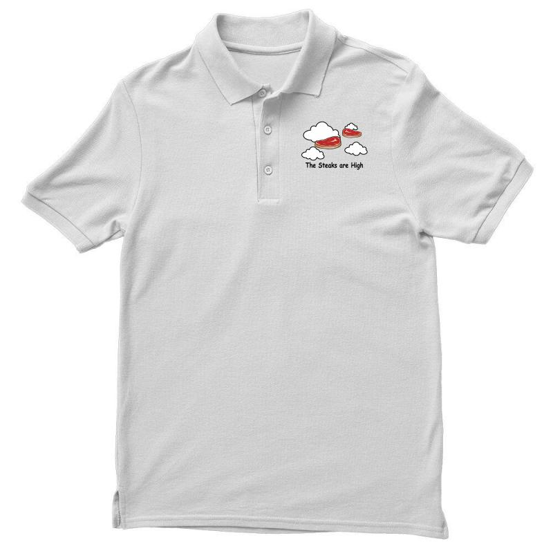 The Steaks Are High Men's Polo Shirt | Artistshot