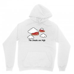 the steaks are high Unisex Hoodie | Artistshot