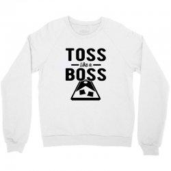 toss like a boss cornhole Crewneck Sweatshirt | Artistshot