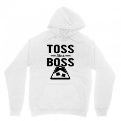 toss like a boss cornhole Unisex Hoodie | Artistshot