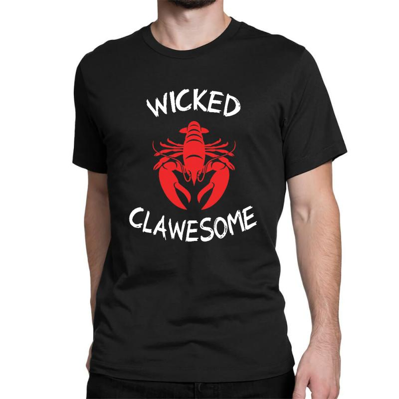 Wicked Clawesome Lobster Classic T-shirt | Artistshot