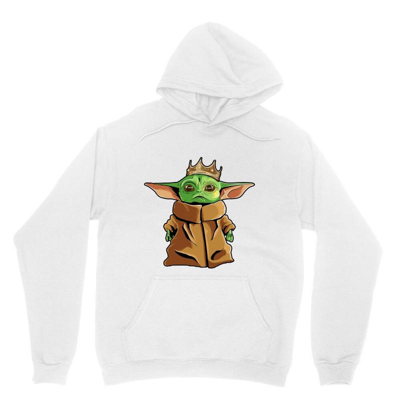 The Mandalorian Baby Yoda Funny King Gildan Unisex Hoodie | Artistshot