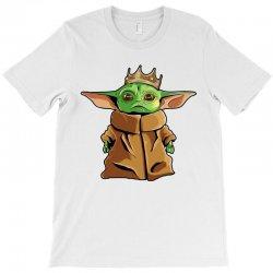 the mandalorian baby yoda funny king gildan T-Shirt | Artistshot