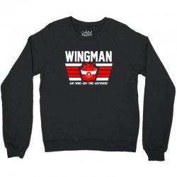 wingman buffalo chicken wing lover Crewneck Sweatshirt | Artistshot