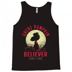 vintage great pumpkin believer Tank Top | Artistshot