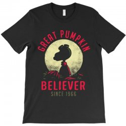 vintage great pumpkin believer T-Shirt | Artistshot