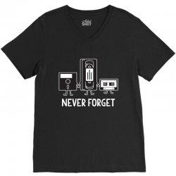 never forget V-Neck Tee | Artistshot