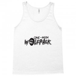 one man wolfpack Tank Top | Artistshot