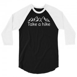 outdoors hiking and camping 3/4 Sleeve Shirt | Artistshot