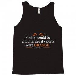 poetry orange Tank Top | Artistshot