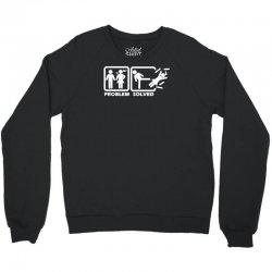 problem solved Crewneck Sweatshirt | Artistshot