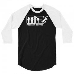 problem solved 3/4 Sleeve Shirt | Artistshot