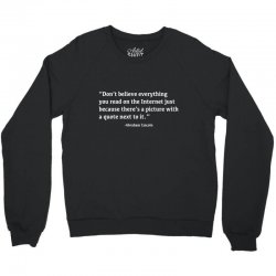quote lincoln Crewneck Sweatshirt | Artistshot