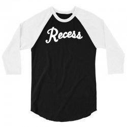 recess 3/4 Sleeve Shirt | Artistshot