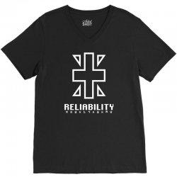 reliability V-Neck Tee | Artistshot