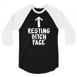resting bitch face 3/4 Sleeve Shirt | Artistshot