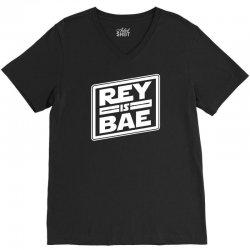 rey is bae V-Neck Tee | Artistshot