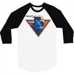 Warriors 3/4 Sleeve Shirt   Artistshot