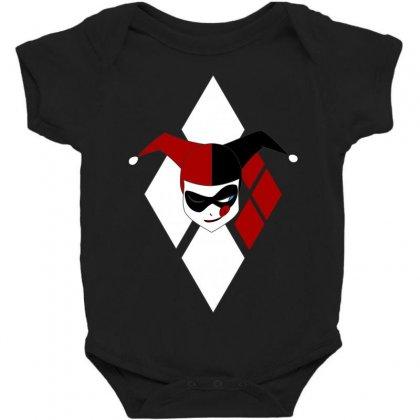 Harley Quinn Baby Bodysuit Designed By Micmat