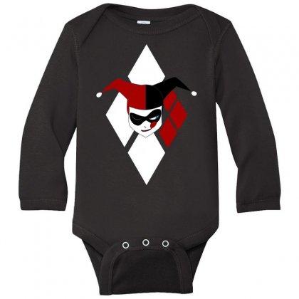 Harley Quinn Long Sleeve Baby Bodysuit Designed By Micmat
