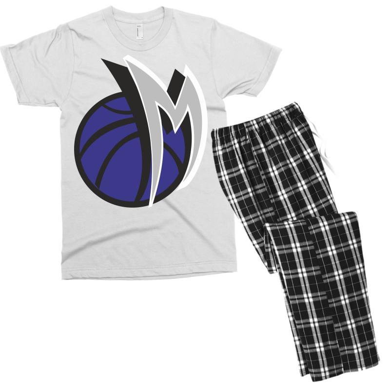 M Basketball Men's T-shirt Pajama Set | Artistshot