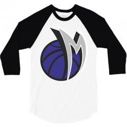 M basketball 3/4 Sleeve Shirt | Artistshot