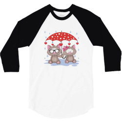 Cat Love 3/4 Sleeve Shirt | Artistshot